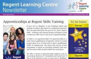 RLC April Newsletter 2014