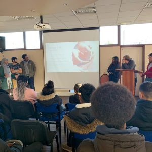 A-Level Biology students deliver presentation on current biological issues