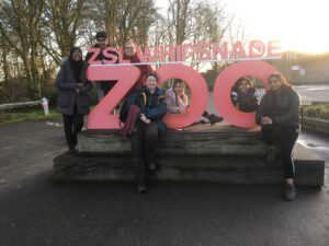 A Level students visit Whipsnade Zoo