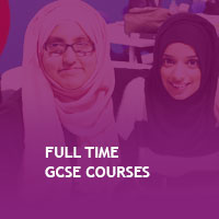 Full Time GCSE Courses