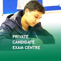 Private Candidate exam centre