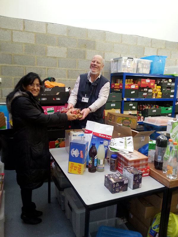 Donate to Local Foodbank
