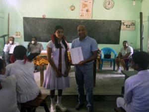 S Foundation sponsor school in Sri Lanka