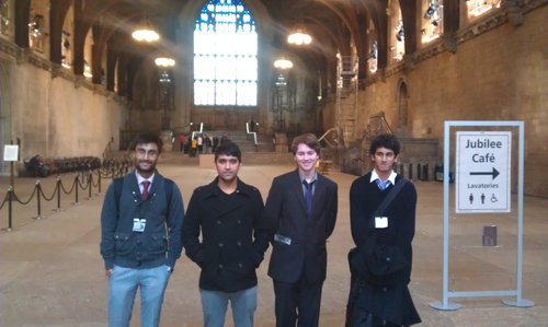 Trip to Houses of Parliament