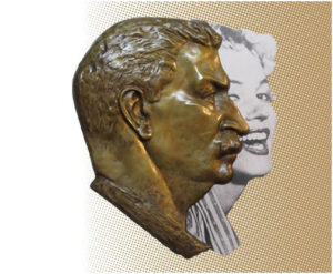 Leonid Sokov Two Profiles (Stalin and Marilyn)
