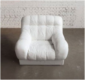 White Sofa, carved in marble by Ai Wei Wei (2011)