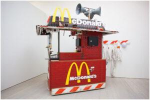 Nuty's Mc Donald's (2010) by Tom Sachs
