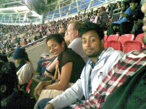 Visiting Olympic Football